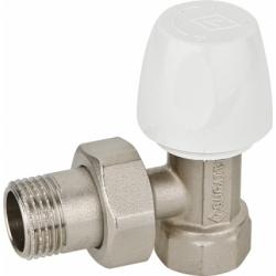 : фото Клапан DALLAS запорный для радиаторов 1/2 x 1/2 угловой (8807)
