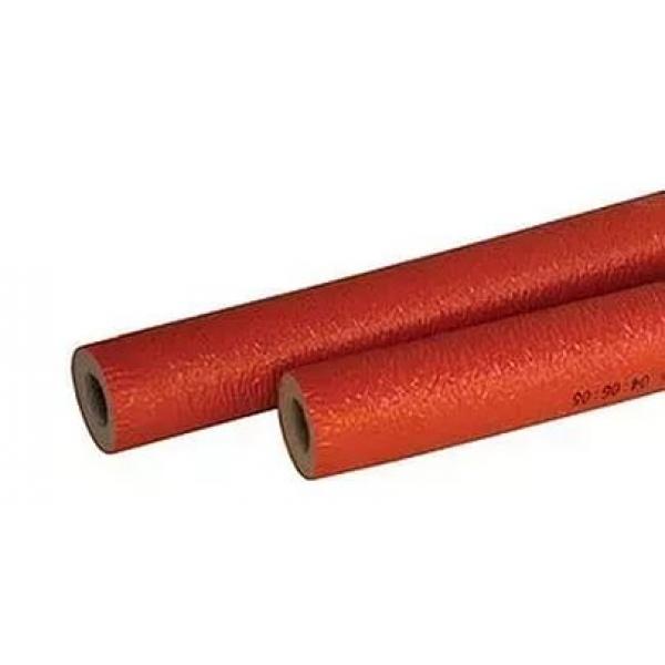 Теплоизоляция ЭНЕРГОФЛЕКС СУПЕР ПРОТЕКТ 22x6 (2 м) красный фото 1