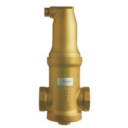 : фото Сепаратор воздуха для горизонтального трубопровода Zeparo Vent ZUV 32