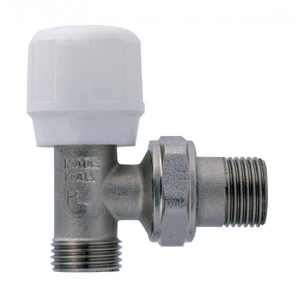 """Вентиль регулирующий угловой для металлопластиковых труб к соединениям типа Multi-Fit (арт 510) 1/2""""  ITAP ART 395 фото 1"""