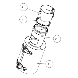 : фото Разъединительное устройство (алюм.) с контрольным устройством, 60/100 мм
