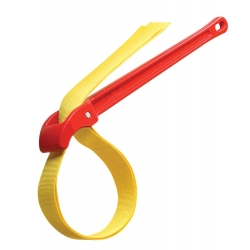 ": фото Алюминиевый ремешковый ключ №5 для пластика, 5 1/2"" Ridgid"