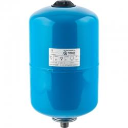 : фото Гидроаккумулятор для водоснабжения (Stout) Varem, 12 л, синий, с дифрагмой