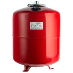 : фото Расширительный бак для отопления (Stout) Varem, 50 л, красный