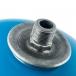 Гидроаккумулятор для водоснабжения (STOUT) Varem, 24 л, вертикальный, синий, сменная мембрана фото 3