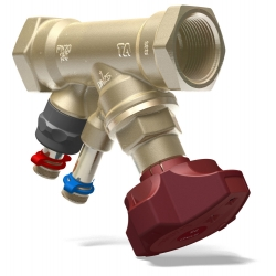 ": фото Балансировочный клапан STAD, без дренажа G 1 1/4"", DN32, ВР, AMETAL"