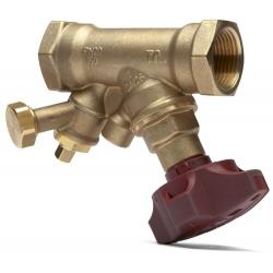 : фото Балансировочный клапан STA, с дренажем, DN15, внутренняя резьба, PN20, AMETAL