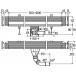 Базовый элемент душевого лотка AdvantixVario для пристенного монтажа 300-1200, пластик, мод. 4967.10 VIEGA фото 3