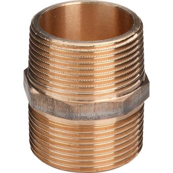 Двойной ниппель 1/2, бронза, мод. 3280 VIEGA фото 1