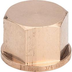 : фото Заглушка 1 1/2, бронза, мод. 3301 Viega