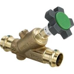 : фото CRV наклонный вентиль свободного потока Easytop (комбинированный вентиль с обратным клапаном), Veiga, 2238