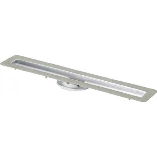 Базовый элемент душевого лотка Advantix 900, нержавеющая сталь, мод. 4982.10 VIEGA фото 1