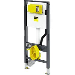 : фото Инсталляция для унитаза Prevista Dry с подключением для унитаза-биде 1120 mm Viega