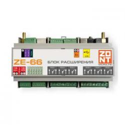 : фото ZONT ZE-66 Блок расширения для контроллеров H2000+ и C2000+