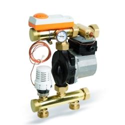 : фото Регулирующий модуль Watts FRG 3015F коллекторный