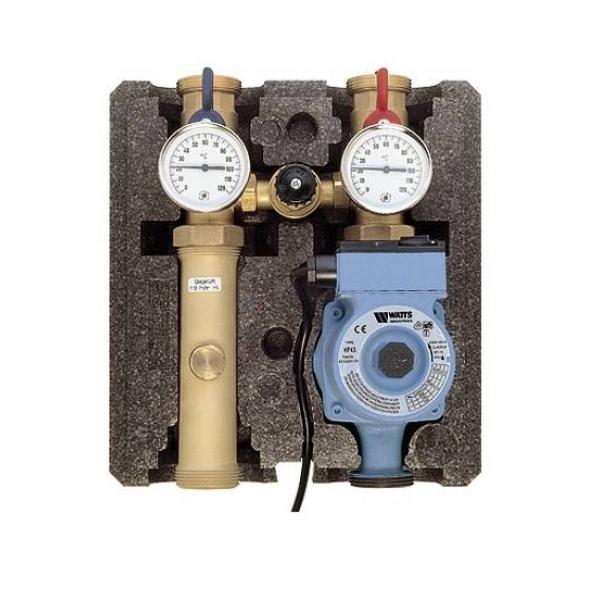 Насосный модуль WATTS PAS-PM с циркуляционным насосом Grundfos UPS 25-40 фото 1