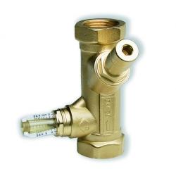 """: фото Балансировочный вентиль WattFlow c расходомером SRV-IG, ВР 1 1/4"""", DN32"""