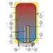 Электрический накопительный водонагреватель DRAZICE OKCE 200 фото 2