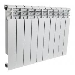 : фото Радиатор алюминиевый Rommer 10 секции OPTIMA Al 500-10