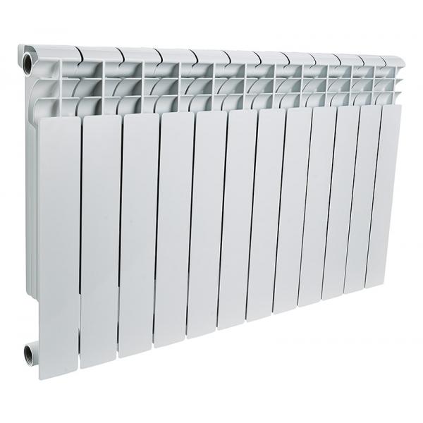 Радиатор алюминиевый ROMMER 12 секций PROFI AL350-80-80-12 фото 1