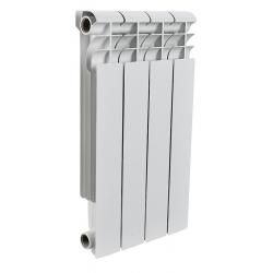 : фото Радиатор алюминиевый Rommer 4 секции PROFI AL350-80-80-4