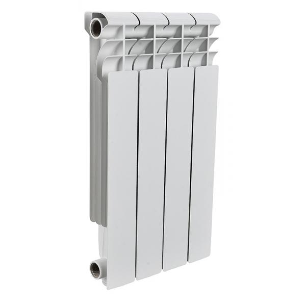 Радиатор алюминиевый ROMMER 4 секции PROFI AL500-80-80-4 фото 1