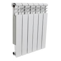 Радиатор алюминиевый Rommer 6 секций PROFI AL500-80-80-6