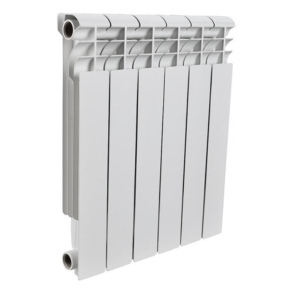 Радиатор алюминиевый ROMMER 6 секций PROFI AL350-80-80-6 фото 1