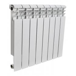 : фото Радиатор алюминиевый Rommer 8 секций PROFI AL350-80-80-8