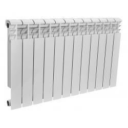 : фото Радиатор биметаллический Rommer 12 секций OPTIMA Bm 500-12