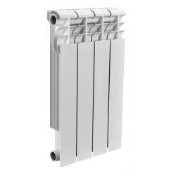 : фото Радиатор биметаллический Rommer 4 секции OPTIMA Bm 500-4
