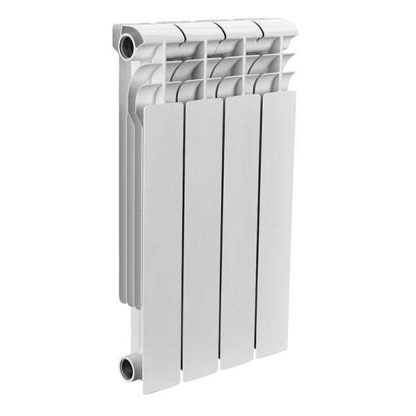 Радиатор биметаллический ROMMER 4 секции OPTIMA Bm 500-4 фото 1
