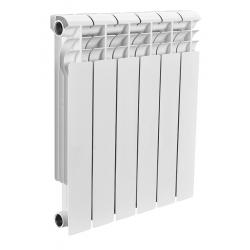 : фото Радиатор биметаллический Rommer 6 секций OPTIMA Bm 500-6