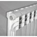 Радиатор алюминиевый ROMMER 8 секций PROFI AL350-80-80-8 фото 2