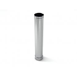 : фото Труба ф 160, 1,0 м, 0,5 мм нержавейка