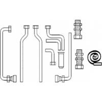Комплект подключения (eco/atmo/turbo TEC) к VIH R 120 включая группу безопасности (открытый монтаж)