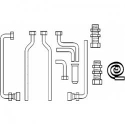 : фото Комплект подключения (eco/atmo/turbo TEC) к VIH R 120 включая группу безопасности (открытый монтаж)