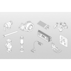 : фото Комплект подключения для VIH QL 75 B для монтажа слева от котла, включая термостат